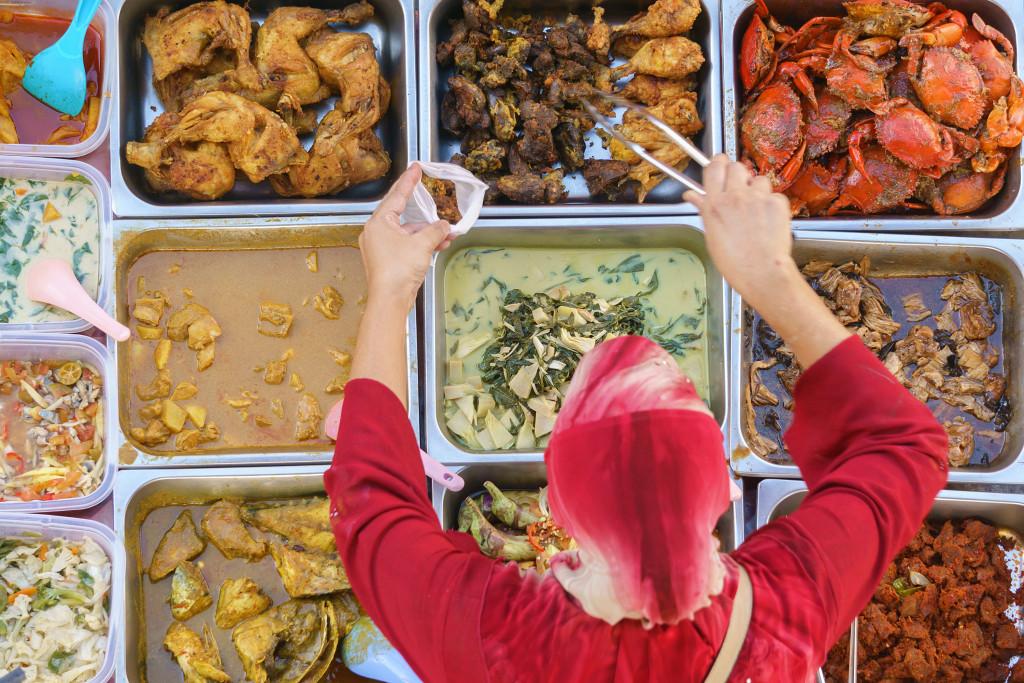 local street food vendor