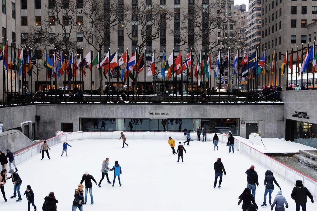 ice skating spot