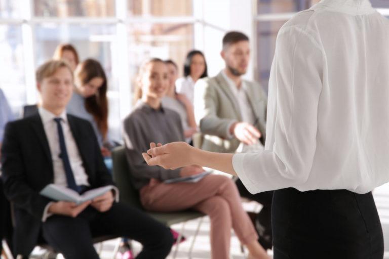 training employees